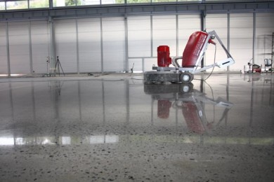 Behandlet betong
